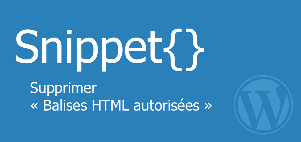 comment modifier html wordpress